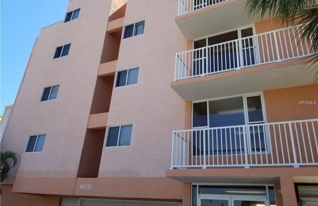 16332 GULF BOULEVARD - 16332 Gulf Boulevard, Redington Beach, FL 33708