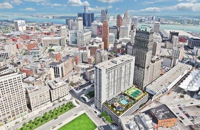 Detroit City Club Apartments - 1431 Washington Blvd, Detroit, MI 48226
