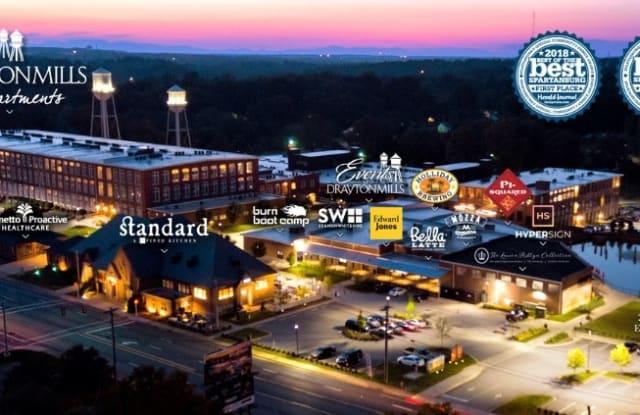 Drayton Mills Lofts - 1800 Drayton Rd, Spartanburg County, SC 29333
