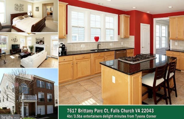 7617 BRITTANY PARC COURT - 7617 Brittany Parc Ct, Idylwood, VA 22043