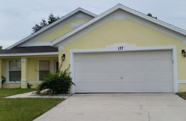137 King George Dr - 137 King George Drive, Polk County, FL 33837
