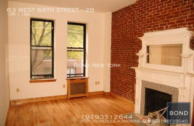 63 WEST 68TH STREET - 63 West 68th Street, New York, NY 10023