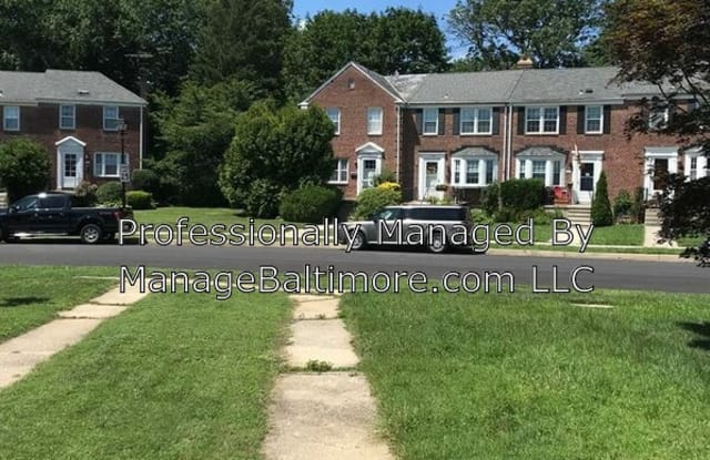 304 Old Trail Road - 304 Old Trail Rd, Towson, MD 21212