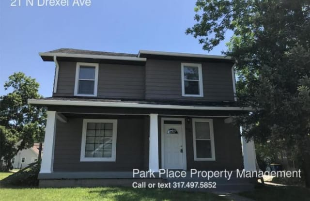 21 N Drexel Ave - 21 North Drexel Avenue, Indianapolis, IN 46201