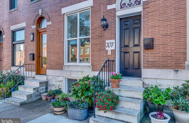 707 E FORT AVENUE - 707 East Fort Avenue, Baltimore, MD 21230