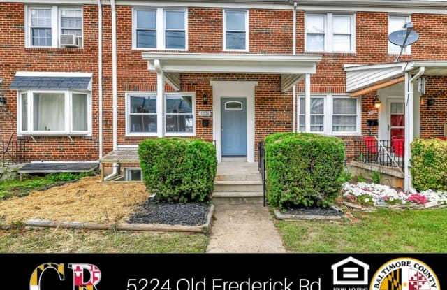 5224 Old Frederick Rd - 5224 Old Frederick Road, Catonsville, MD 21229