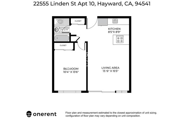 22555 Linden Street Unit 10 - 22555 Linden St, Hayward, CA 94541