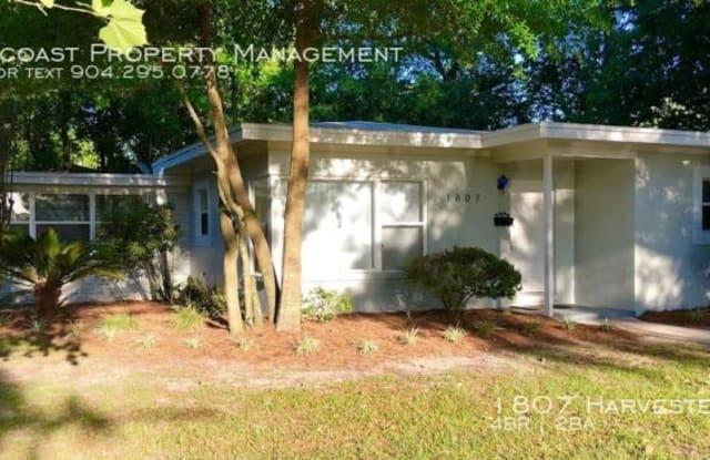 1807 Harvester St - 1807 Harvester Street, Jacksonville, FL 32210