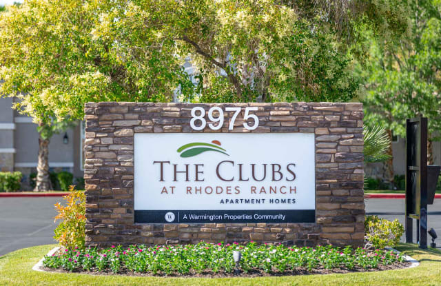 The Clubs at Rhodes Ranch - 8975 W Warm Springs Rd, Spring Valley, NV 89148
