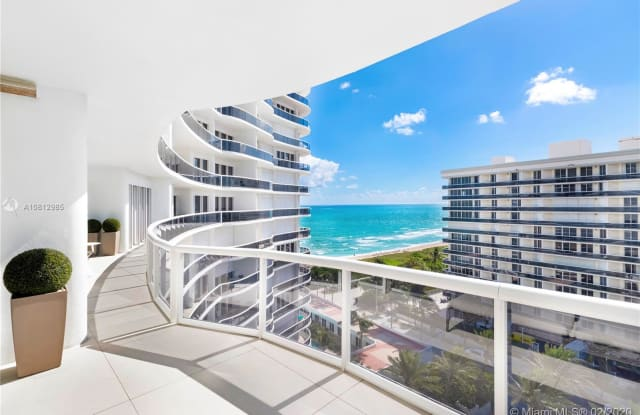 9601 Collins Ave - 9601 Collins Avenue, Bal Harbour, FL 33154