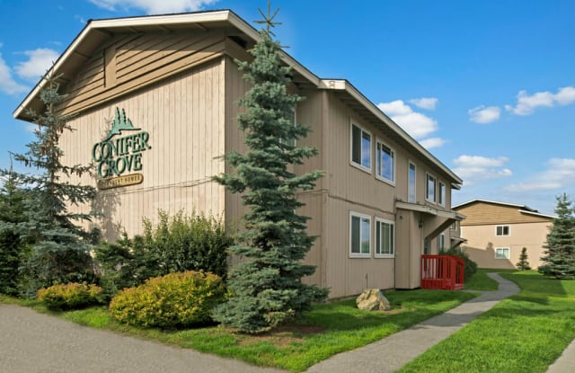 Conifer Grove - 218 McCarrey St, Anchorage, AK 99508
