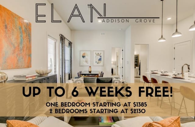 Elan Addison Grove - 4150 Belt Line Road, Addison, TX 75001