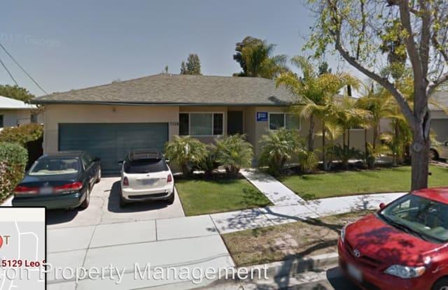 5129 Leo Street - 5129 Leo Street, San Diego, CA 92115