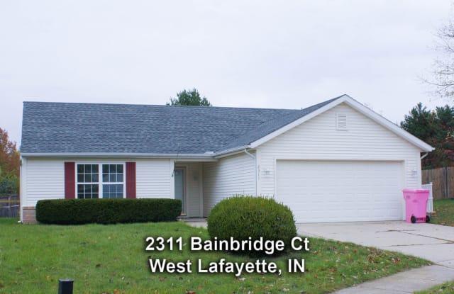 2311 Bainbridge Court - 2311 Bainbridge Court, Tippecanoe County, IN 47906