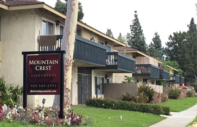 Mountain Crest Apartments - 1481 W 7th St, Upland, CA 91786