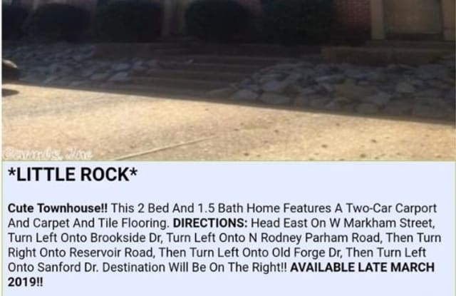 1712 Sanford Dr 1 - 1712 Sanford Drive, Little Rock, AR 72227