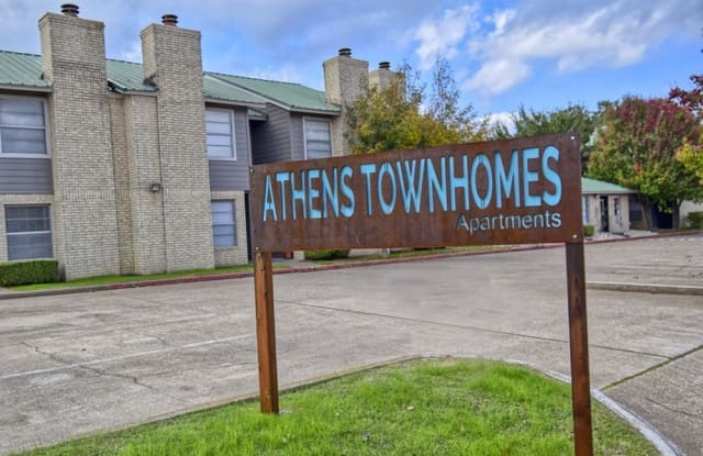 Athens Townhomes - 215 Wood Street, Athens, TX 75751