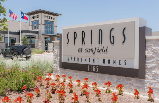 Springs at Sunfield - 1165 Fire Cracker Dr, Buda, TX 78610