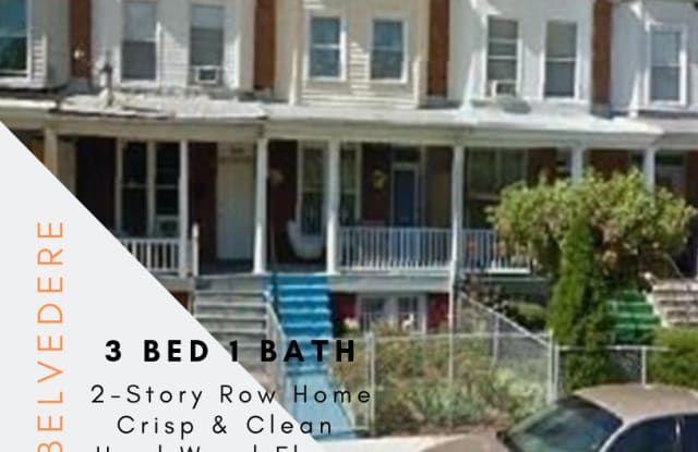 3304 West Belvedere Avenue - 3304 West Belvedere Avenue, Baltimore, MD 21215