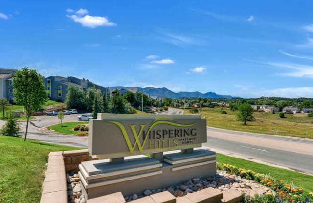 Whispering Hills - 260 Rim View Dr, Colorado Springs, CO 80919
