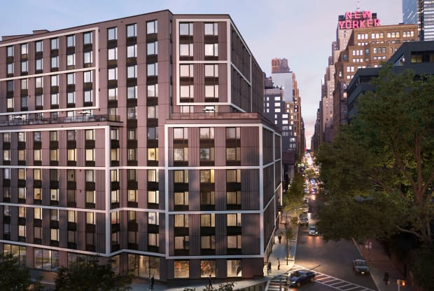The Lewis - 411 W 35th St, New York, NY 10018