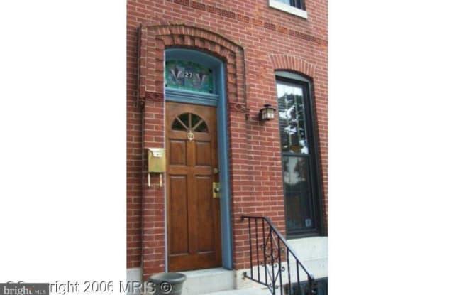 27 OSTEND STREET E - 27 East Ostend Street, Baltimore, MD 21230