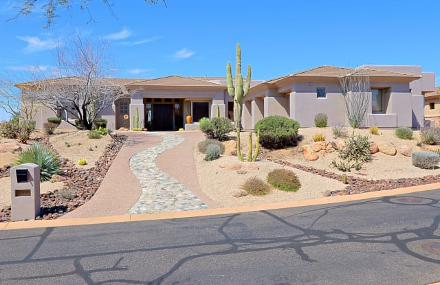 9886 E WHITEWING Drive - 9886 East Whitewing Drive, Scottsdale, AZ 85262