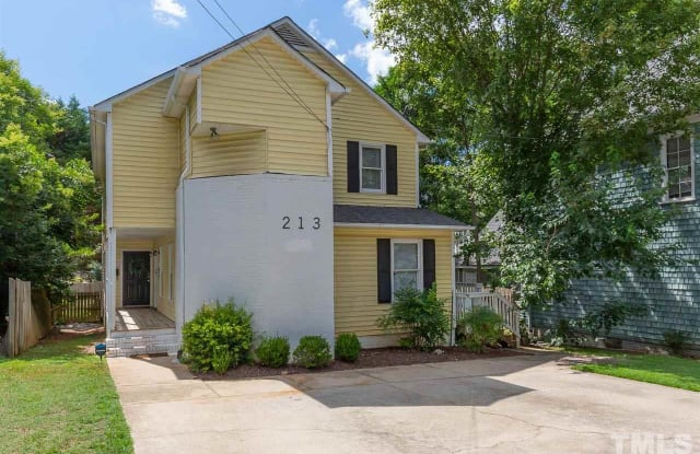 213 N Boylan Avenue - 213 North Boylan Avenue, Raleigh, NC 27603