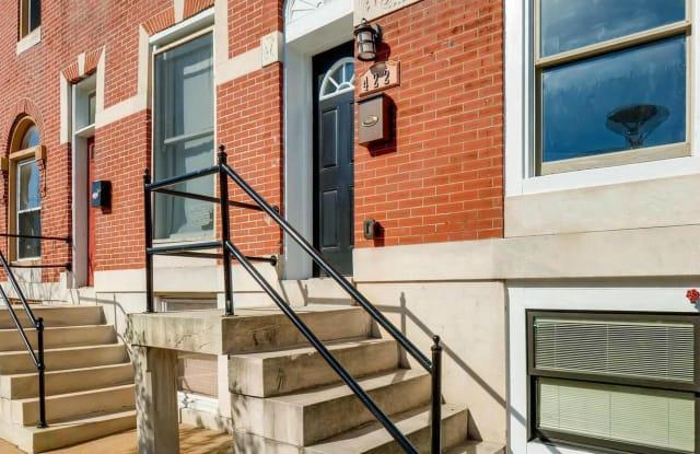 422 N LUZERNE AVENUE - 422 North Luzerne Avenue, Baltimore, MD 21224