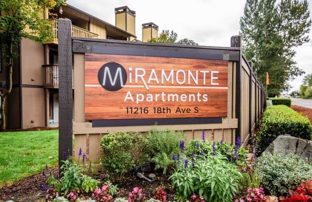 Miramonte Apartments - 11216 18th Ave S, Parkland, WA 98444