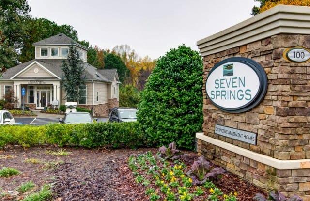 Seven Springs Apartments - 100 Ridgebrook Way Northeast, Atlanta, GA 30345