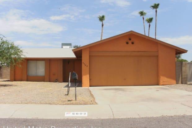 5502 W Barbara Ave - 5502 West Barbara Avenue, Glendale, AZ 85302