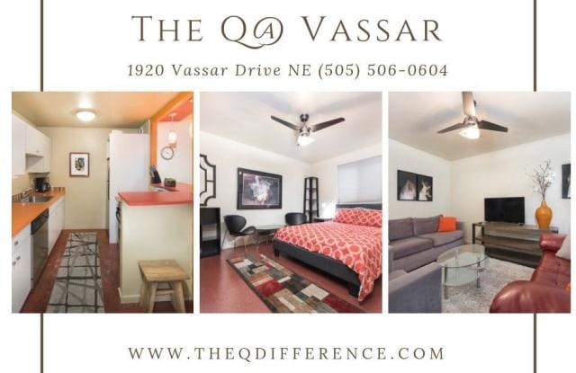 The Q at Vassar - 1920 Vassar Drive Northeast, Albuquerque, NM 87106