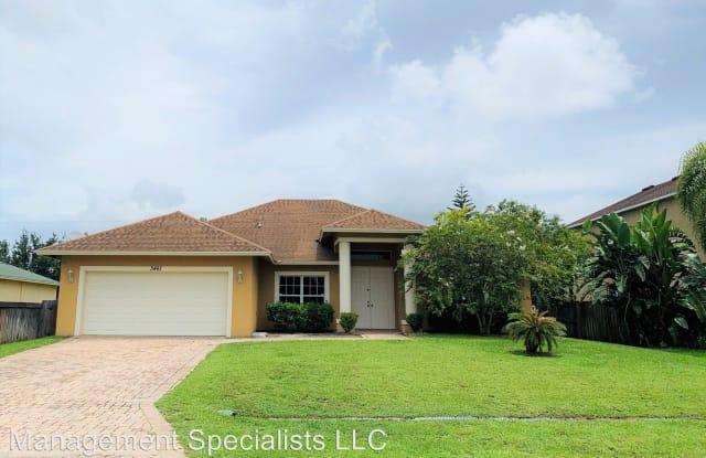 3461 SW Ronald Street - 3461 Southwest Ronald Street, Port St. Lucie, FL 34953
