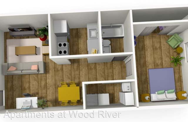 Metro Apartments at Wood River - 543 Charles Ave, Wood River, IL 62095