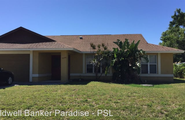 2456 Trail Ave SE - 2456 Southeast Trail Avenue, Port St. Lucie, FL 34952