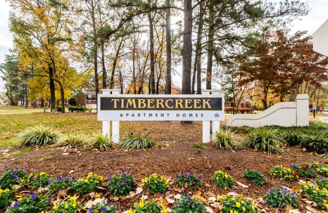 Timbercreek Apartment Homes - 2200 Chateau Dr, Richmond, VA 23224