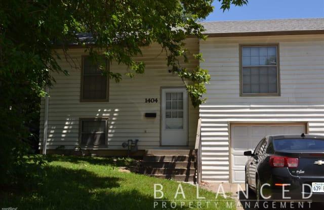 1404 SW McAlister Ave - 1404 Southwest Mcalister Avenue, Topeka, KS 66604