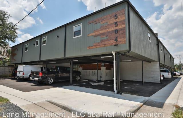 5504 La Branch - 5504 La Branch Street, Houston, TX 77004
