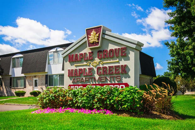 Maple Grove Apartments - 8602 Beech Drive, Sterling Heights, MI 48312