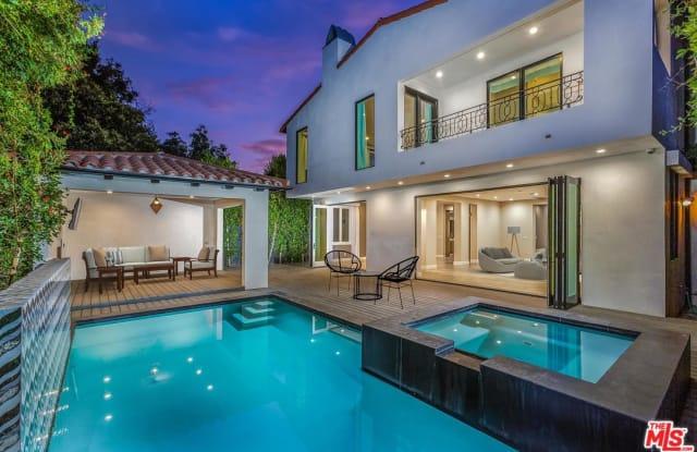 846 North ORANGE GROVE Avenue - 846 North Orange Grove Avenue, Los Angeles, CA 90046