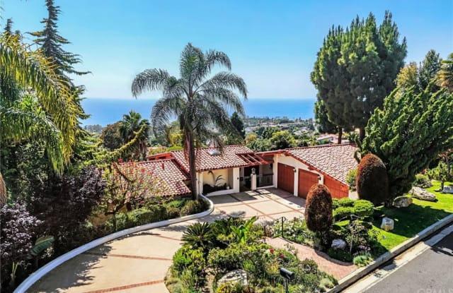 1349 Via Zumaya - 1349 Via Zumaya, Palos Verdes Estates, CA 90274