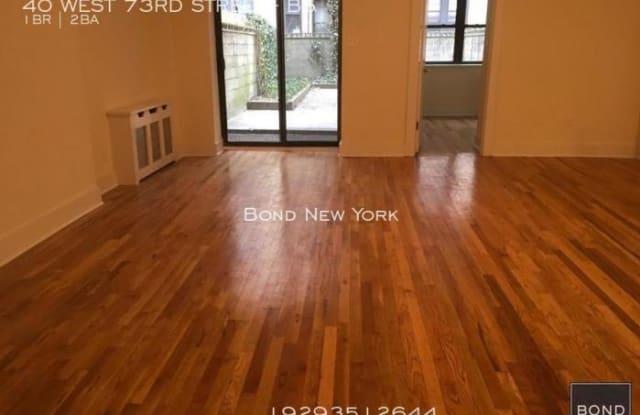 40 WEST 73RD STREET - 40 West 73rd Street, New York, NY 10023