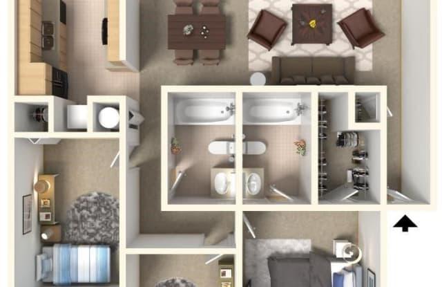 Oakbrook Apartments - 3221 Southwest Twilight Court, Topeka, KS 66614