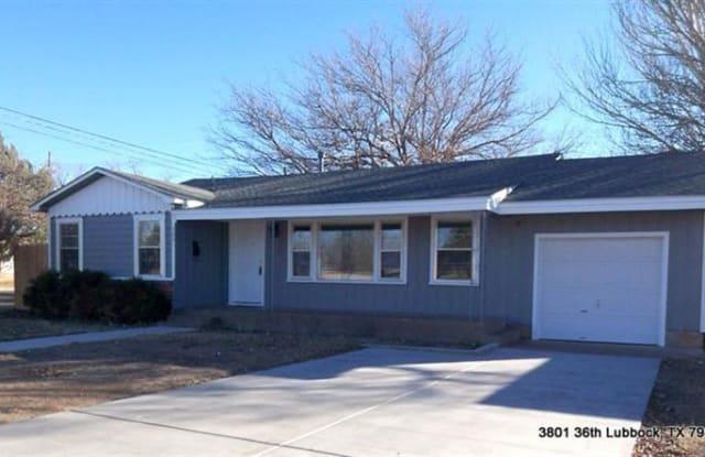 3801 32nd Street - 3801 32nd St, Lubbock, TX 79410