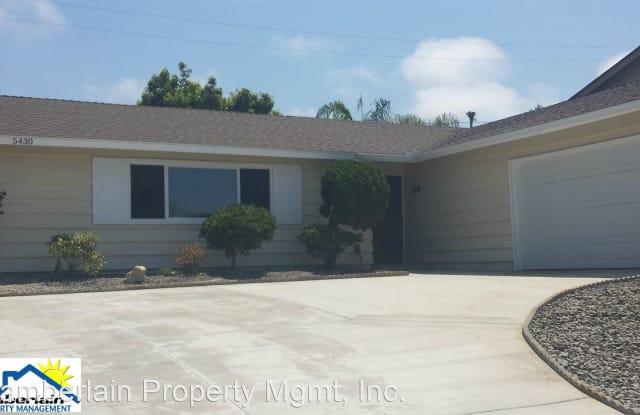 5430 Los Robles Dr. - 5430 Los Robles Drive, Carlsbad, CA 92008