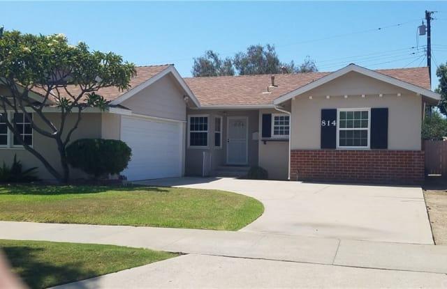 814 N Maplewood Street - 814 North Maplewood Street, Orange, CA 92867