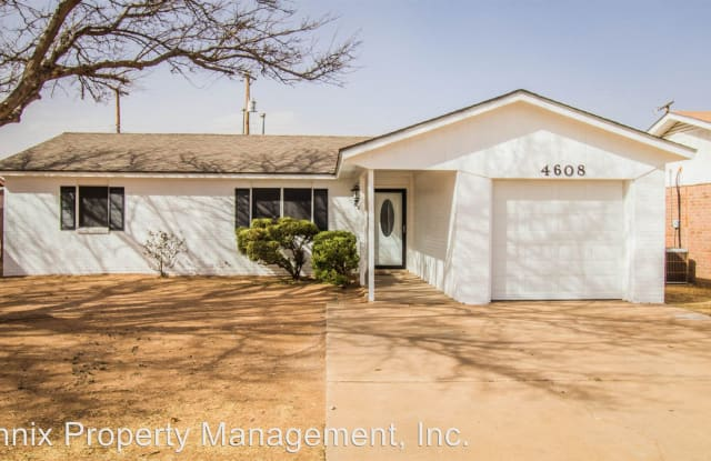 4608 Grinnell St. - 4608 Grinnell Street, Lubbock, TX 79416