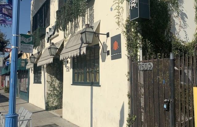 7509 Santa Monica Blvd - 7509 Santa Monica Boulevard, West Hollywood, CA 90046