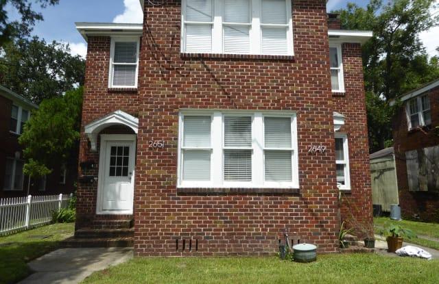 2651 DELLWOOD AVE - 2651 Dellwood Avenue, Jacksonville, FL 32204